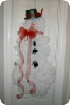 #deco mesh snowman instructions