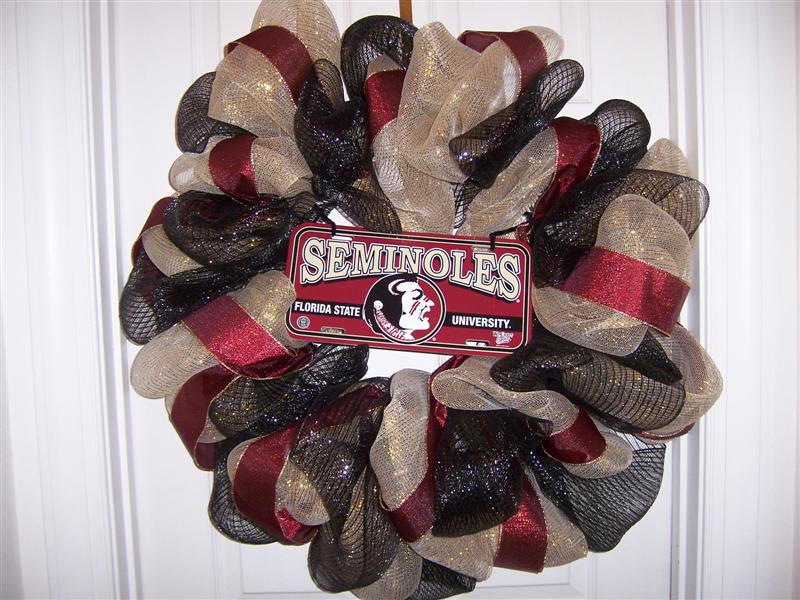 FSU Wreath