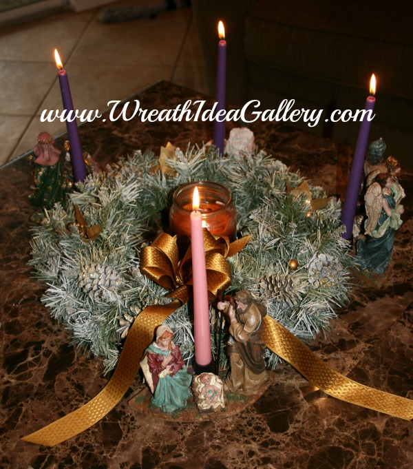 #advent wreath