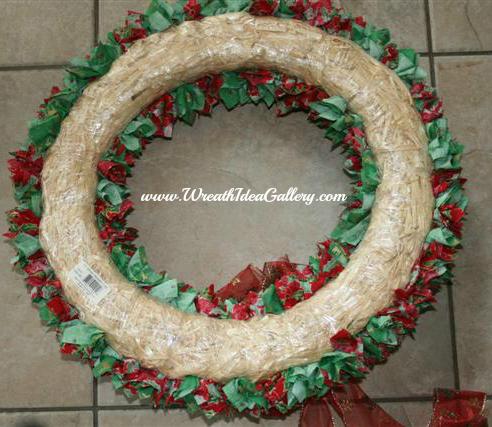 Straw Wreath Form