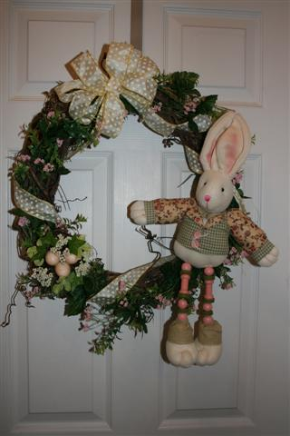 Easter Grapevne Wreath