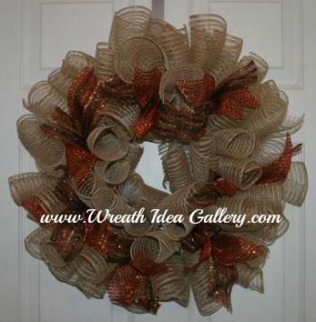 fall deco mesh wreath www.wreathideagallery.com