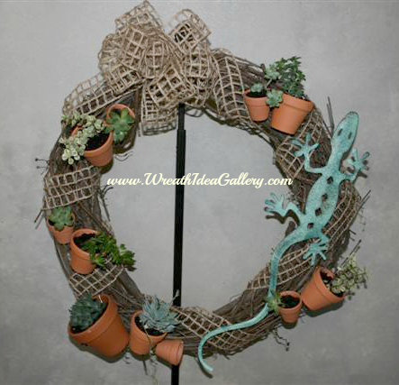 succulant wreath