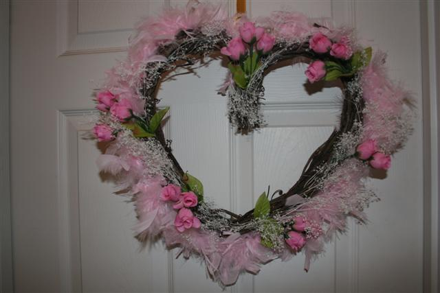 Valentine Grapevine Wreath