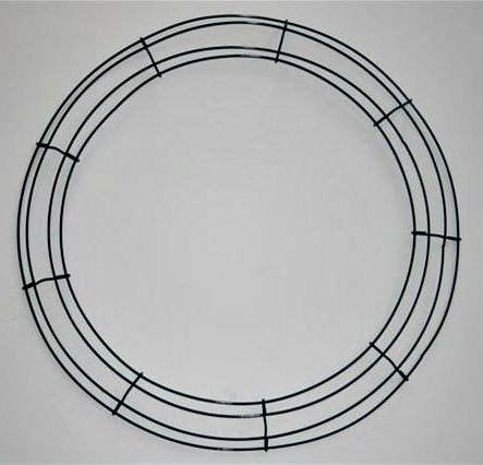Box Style Wire Wreath Form