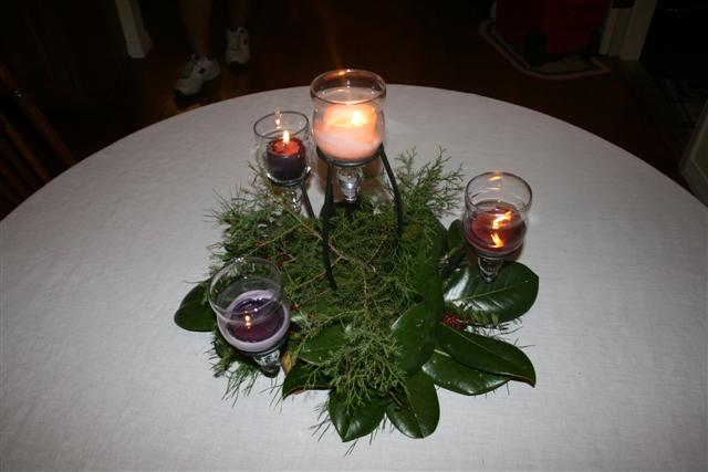 #advent wreath www.wreathideagallery.com