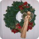 Christmas Angel Wreath