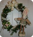 Waster Bunny Wreath