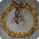 Corn Cob Wreath