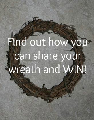 Share your wreath and WIN at the Wreath Idea Gallery.
