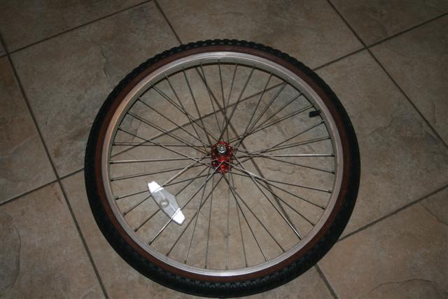 Tire Wreath Form